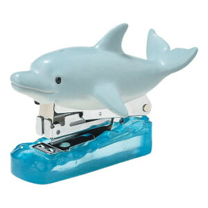 セトクラフト ステープラー イルカ SR-5763 ホッチキス 魚 かわいい