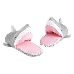 セトクラフト モップスリッパ ガブリサメ SF-4061 ルームシューズ かわいい 魚 鮫