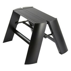 デザイン踏み台 METAPHYS lucano ルカーノ ワンステップ ML1.0-1(BK) ステッパー ベンチ 小椅子 便利 かわいい おしゃれ インテリア キッチン 玄関