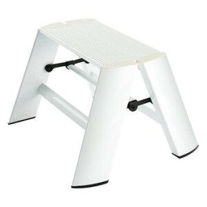 デザイン踏み台 METAPHYS lucano ルカーノ ワンステップ ML1.0-1(WH) ステッパー ベンチ 小椅子 便利 かわいい おしゃれ インテリア キッチン 玄関