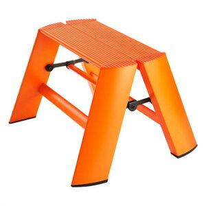 デザイン踏み台 METAPHYS lucano ルカーノ ワンステップ ML1.0-1(OR) ステッパー ベンチ 小椅子 便利 かわいい おしゃれ インテリア キッチン 玄関