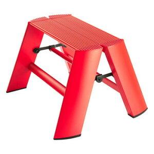 デザイン踏み台 METAPHYS lucano ルカーノ ワンステップ ML1.0-1(RD) ステッパー ベンチ 小椅子 便利 かわいい おしゃれ インテリア キッチン 玄関