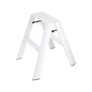 デザイン踏み台 METAPHYS lucano ルカーノ ツーステップ ML2.0-2(WH) ステッパー ベンチ 小椅子 便利 かわいい おしゃれ インテリア キッチン 玄関