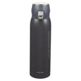 水筒 魔法瓶 ドリンクボトル おしゃれ パール金属 カフェマグポーター 軽量ワンタッチマグ650 ブルーグレー HB-4761