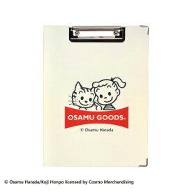 おしゃれ かわいい バインダー 事務用品 OSAMU GOODS オサムグッズ クリップボード ジル&キャット アイボリー ST-ZO0003