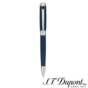 S.T. Dupont エス・テー・デュポン おしゃれ 高級 メンズ クラッシー ギフト好適品 フランス製  ラインD ボールペン ブルーラッカー&パラディウム 415104M プレゼント 誕生日 父の日