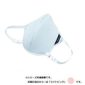 フィットブレス マスク型フェイスパット FIT Breath ライトピンク 国産 日本製 マスク ジム トレーニング フィットネス スポーツ 涼感 涼しい ひんやり 息苦しくない