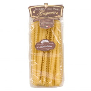 ラ・ファッブリカ・デッラ・パスタ マファルディーネ 12袋セット 6443 イタリア製 パスタ 乾麺 業務用 まとめ買い