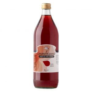 アレティーノ 赤ワインビネガー 1000ml 12本セット 7095 イタリア製 セット 業務用