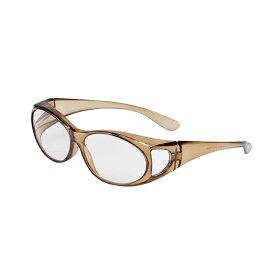 オーバーグラスルーペ ブルーシールド カーキ1.6倍 拡大鏡 老眼鏡 メガネの上から
