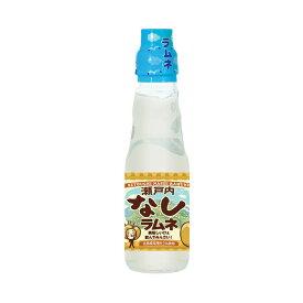 齋藤飲料工業 瀬戸内なしラムネ 広島県産梨果汁1%使用 200ml瓶×30本 代金引換不可