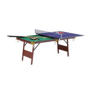 UNIVER ユニバー 1台2役 ビリヤード&卓球 EST-1800 卓球台 ビリヤード台