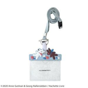 リサとガスパール ネームホルダー グレー ST-ZG0011 おしゃれ かわいい