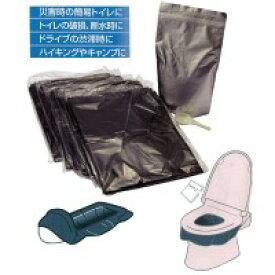 半額以下 50%OFF以下 【楽天スーパーセール対象】 割引 激安 特価 緊急時トイレ40回分 処理袋セット ABO-2040A 災害時トイレセット