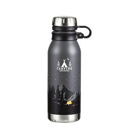 保冷 保温 魔法瓶 水筒 おしゃれ アウトドア パール金属 モーメンツ ダイレクトボトル500 ナイト HB-4655