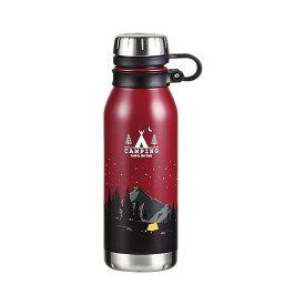 保冷 保温 魔法瓶 水筒 おしゃれ アウトドア パール金属 モーメンツ ダイレクトボトル500 サンセット HB-4656