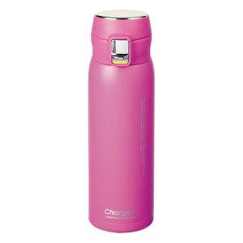 水筒 魔法瓶 マグボトル 保温 保冷 おしゃれ jかわいい パール金属 チャージャー 軽量ワンタッチスポーツマグ500 オーキッドパープル HB-4765