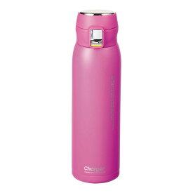 ステンレスマグ 水筒 魔法瓶 マグボトル 保温 保冷 おしゃれ かわいい パール金属 チャージャー 軽量ワンタッチスポーツマグ650 オーキッドパープル HB-4770
