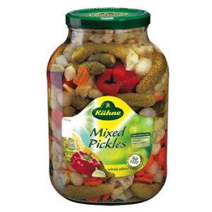 輸入食品 本場の味 本格的 おいしい キューネ ミックスピクルス 2650ml 4セット 053011