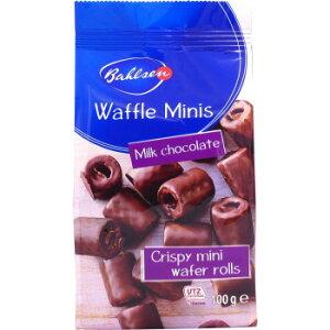 海外食品 おいしい お取り寄せ 希少 レア 人気 業務用 バールセン ワッフルミニーズ チョコ 100g 24セット