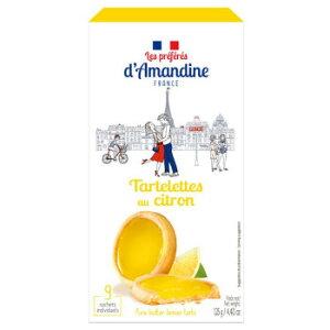 海外食品 おいしい お取り寄せ 希少 レア 人気 業務用 プレフェレダマンディン タートレット レモン 125g 12セット タルト