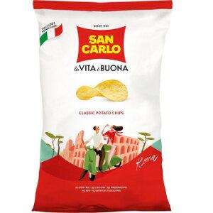 海外食品 おいしい お取り寄せ 希少 レア 人気 業務用 サンカルロ ポテトチップス クラシック 50g 20セット