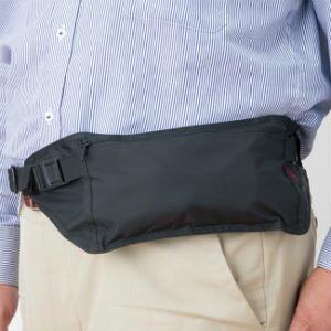 海外旅行 防犯 盗難 防止 予防 ポシェット 貴重品 セーフティバッグ スリム 薄型 ウエストポーチ スリムガード