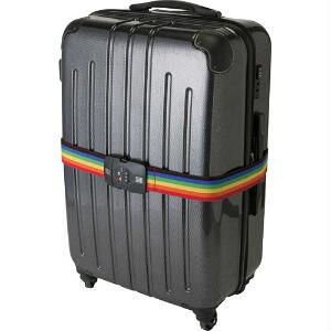 海外旅行 防犯 スーツケースベルト TSAロック ダイヤル式 TSAトランクベルト(インジケーター付)
