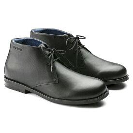 ビルケンシュトック メンズ フレン 本革 チャッカ ブーツ シューズ レザーブラック レギュラーフィット(幅広) BIRKENSTOCK FLEN 即納 SALE セール