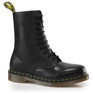 BACK TO BASIC 1490Z 10EYE BOOT Black Smooth 10092001