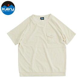 カブー メンズ Tシャツ 半袖 ニュー アルカイ アイボリー 即納 (メール便送料無料) KAVU N-Alki Tee