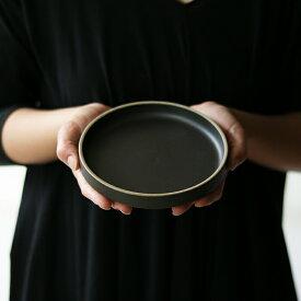 【即日発送】HASAMI PORCELAIN(ハサミポーセリン)[プレート ブラック HPB002][plate black 黒 食器 シンプル 波佐見焼]