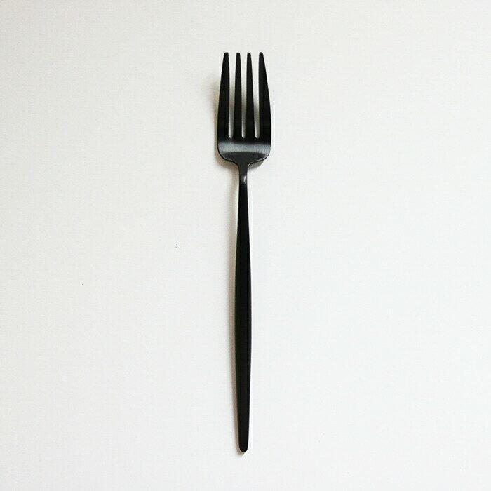 【即日発送・正規品・ゆうパケット可】CUTIPOL(クチポール)MOON MatteBlackムーン マットブラック デザートフォーク[カトラリー 食器 フォーク スプーン ブラック 黒 ステンレス ギフト プレゼント 北欧 シンプル 素敵]