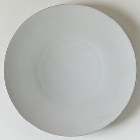 【即日発送】SyuRo(シュロ)せっ器plate L(白)[食器 ホワイト 陶磁器 うつわ 皿 プレート 焼き物]