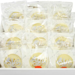 ふわふわ&もちもち食感★北海道物産展で大人気!《新商品》札幌市わらく堂製造★白いどら焼き(小豆バター&レーズンバター)各6個 / 計12個入