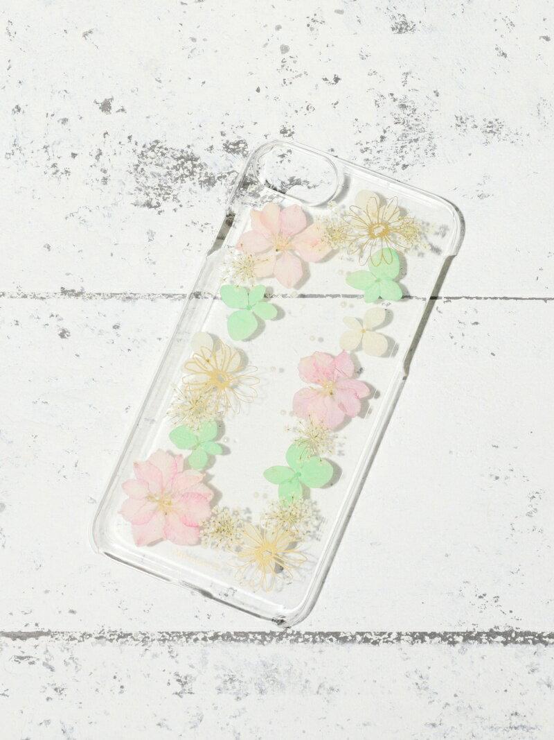 [Rakuten BRAND AVENUE]【SALE/10%OFF】押し花iPhone8/7/6/6sケース アフタヌーンティー・リビング ファッショングッズ【RBA_S】【RBA_E】