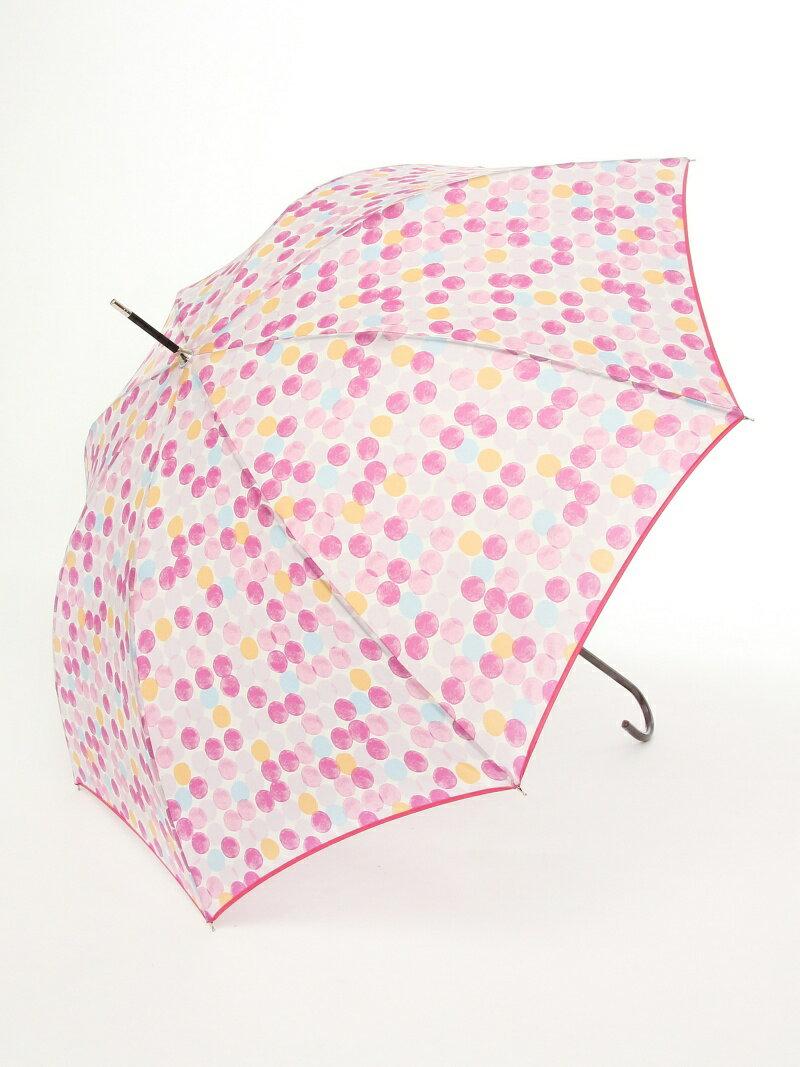 [Rakuten BRAND AVENUE]【SALE/31%OFF】カラフルドット柄長傘 雨傘 Afternoon Tea アフタヌーンティー・リビング ファッショングッズ【RBA_S】【RBA_E】