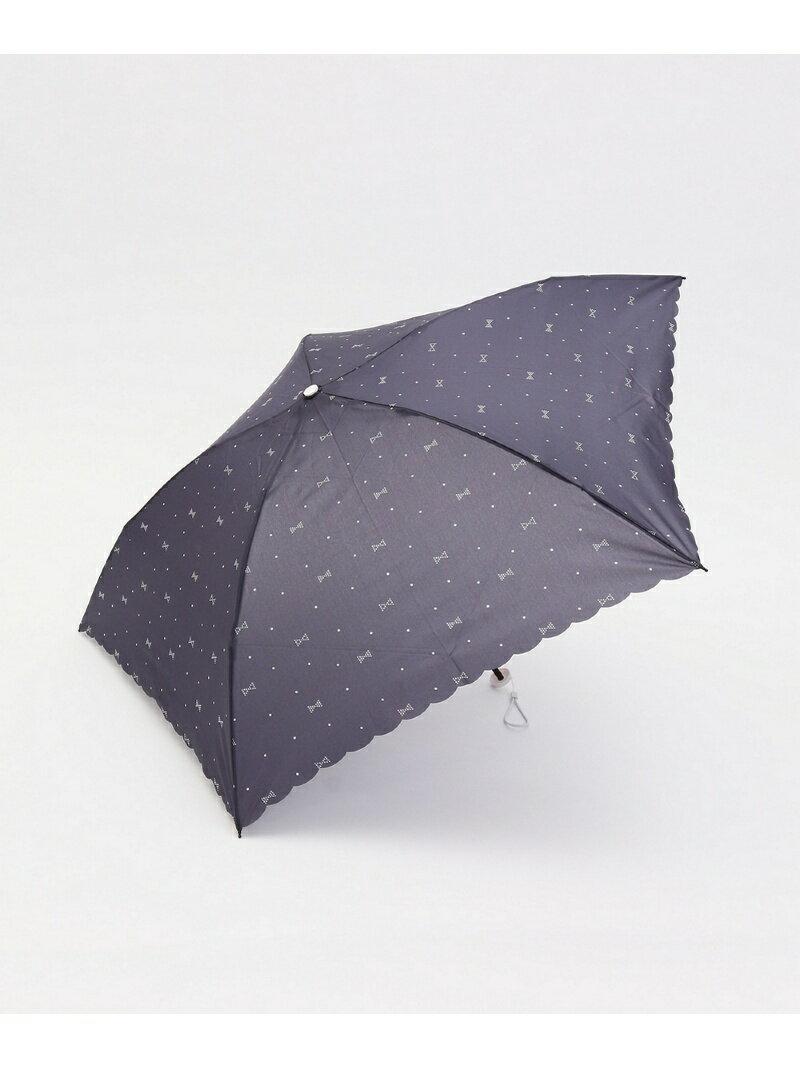 [Rakuten BRAND AVENUE]【SALE/31%OFF】リボンドット柄軽量折りたたみ傘 Afternoon Tea アフタヌーンティー・リビング ファッショングッズ【RBA_S】【RBA_E】