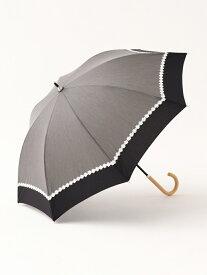 [Rakuten Fashion]シャンブレーフラワーレース晴雨兼用長傘日傘 Afternoon Tea アフタヌーンティー・リビング ファッショングッズ ファッショングッズその他 ブラック ピンク ネイビー