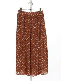 [Rakuten Fashion]【SALE/46%OFF】ドビーフラワープリントプリーツスカート Afternoon Tea アフタヌーンティー・リビング スカート スカートその他 ベージュ ネイビー【RBA_E】