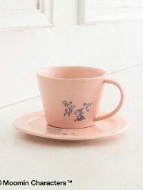 [Rakuten Fashion]Moomin×Afternoon Tea/SAKUZAN/カップ&ソーサー Afternoon Tea アフタヌーンティー・リビング 生活雑貨 キッチン/ダイニング ピンク ホワイト