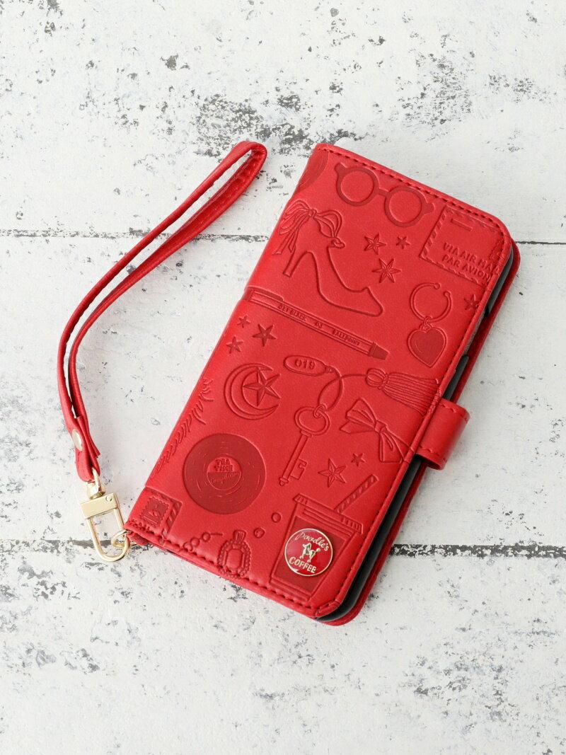 [Rakuten BRAND AVENUE]【SALE/10%OFF】ファッションモチーフ型押しブック型iPhone8/7/6/6sケース アフタヌーンティー・リビング ファッショングッズ【RBA_S】【RBA_E】
