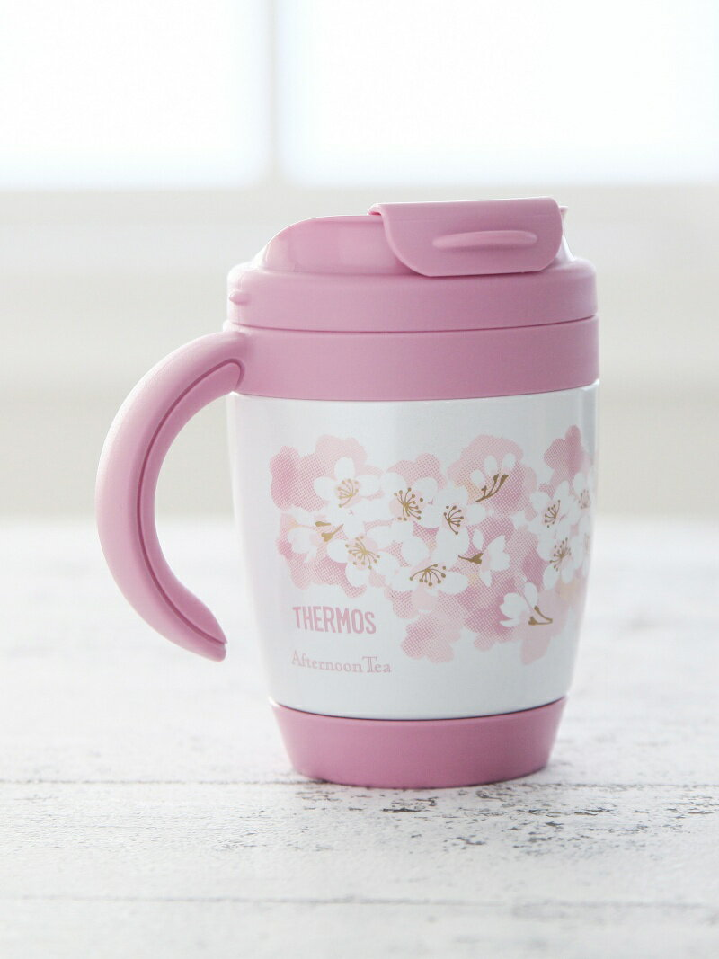 [Rakuten BRAND AVENUE]サーモス/桜柄サーマルマグカップ Afternoon Tea アフタヌーンティー・リビング 生活雑貨