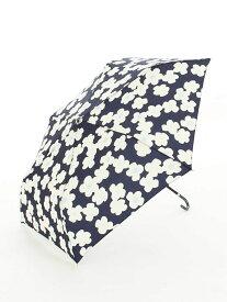 [Rakuten Fashion]フラワー柄折りたたみ傘雨傘 Afternoon Tea アフタヌーンティー・リビング ファッショングッズ 日傘/折りたたみ傘 ネイビー ピンク ベージュ