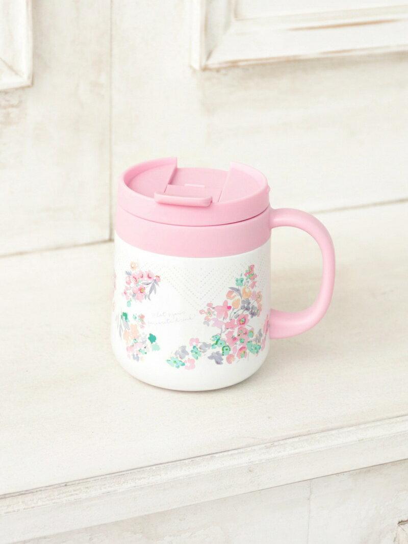 [Rakuten BRAND AVENUE]フラワー柄ステンレスマグカップ Afternoon Tea アフタヌーンティー・リビング 生活雑貨