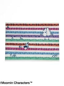 [Rakuten BRAND AVENUE]【SALE/25%OFF】Moomin×Afternoon Tea/ボーダーラミネートランチョンマット アフタヌーンティー・リビング 生活雑貨【RBA_S】【RBA_E】