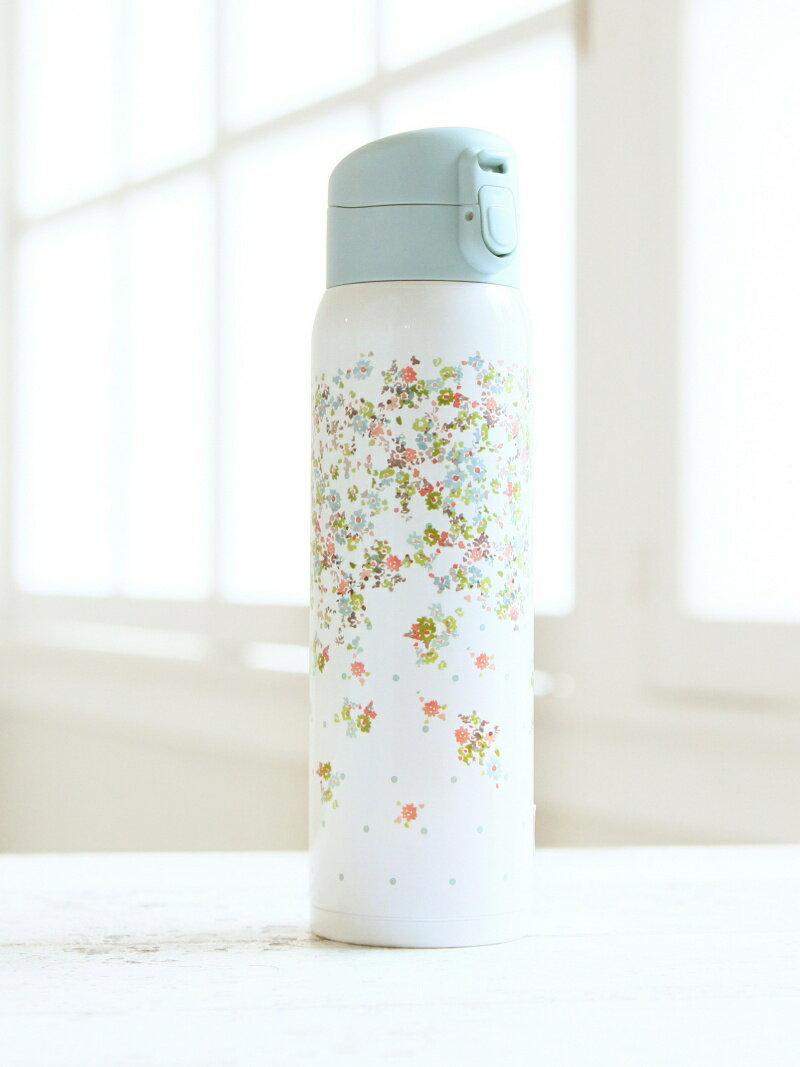 [Rakuten BRAND AVENUE]フラワー柄ステンレスボトル 480ml Afternoon Tea アフタヌーンティー・リビング 生活雑貨