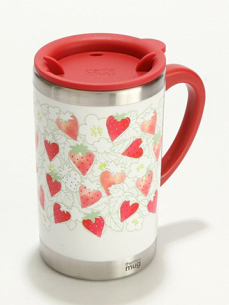 Afternoon Tea イチゴ柄スリムマグカップ アフタヌーンティー・リビング