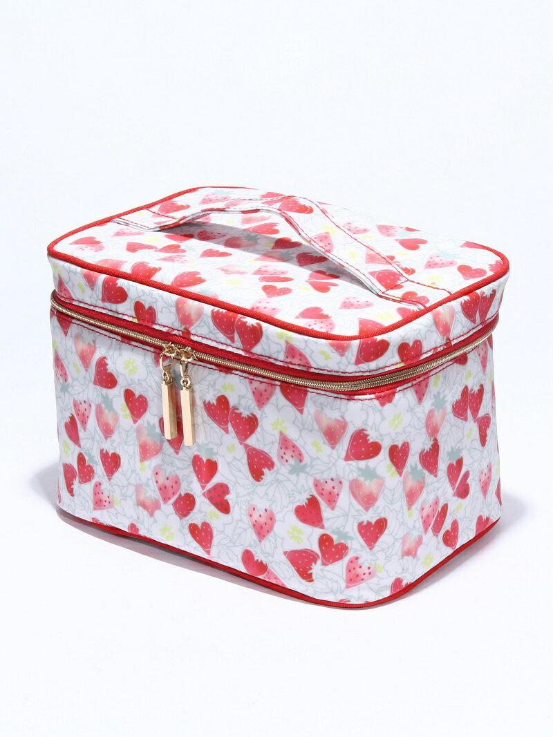 [Rakuten BRAND AVENUE]イチゴ柄バニティ Afternoon Tea アフタヌーンティー・リビング 生活雑貨