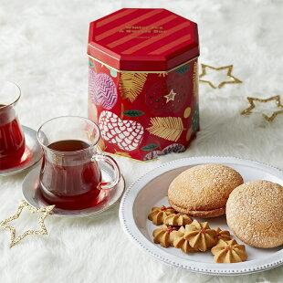 ウィンターティー&スイーツボックス【アフタヌーンティー・ティールーム】【紅茶焼き菓子詰め合わせクリスマスギフトアフタヌーンティーかわいいおしゃれ】